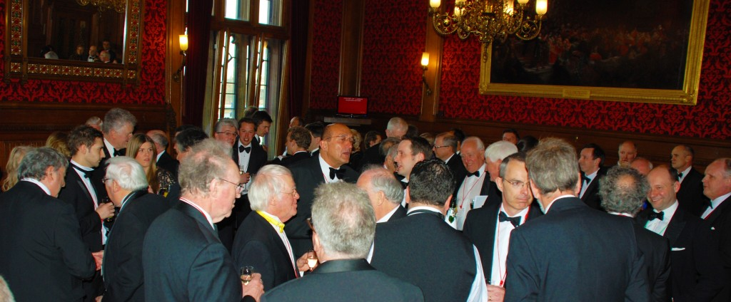 Pre-dinner reception at the House of Lords