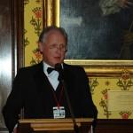 Stephen Furber, speaker at the RTC Anniversary Dinner.
